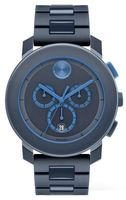 Movado Bold  Navy Blue Dial and Navy Blue Stainless Steel Men's Watch 3600270-SD