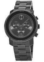 Movado Bold  Grey-Ion Plated Chronograph Men's Watch 3600277