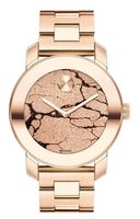 Movado Bold  36mm Rose Gold Ion-plated Glitter Women's Watch 3600347
