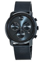 Movado Bold  Swiss Chronograph Bold Ink Blue Ion-Plated Steel 44mm Men's Watch 3600403