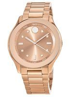 Movado Bold  Rose Gold Tone Women's Watch 3600417