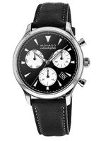 Movado Heritage  Calendoplan Chronograph Leather Strap Men's Watch 3650005