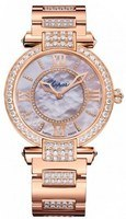 Chopard Imperiale Automatic 36mm Mother of Pearl Diamond Women's Watch 384242-5008