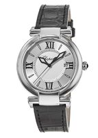 Chopard Imperiale 36mm Steel Leather Strap Women's Watch 388532-3001