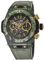 Hublot Big Bang Unico Italia Independent Green Camo Limited Edition Men's Watch 411.YG.1198.NR.ITI16