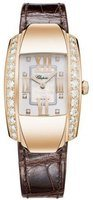 Chopard La Strada  Mother of Pearl Diamond Leather Strap Women's Watch 419402-5004