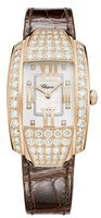 Chopard La Strada  Mother of Pearl Diamond Leather Strap Women's Watch 419403-5004