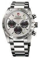 Tudor Fastrider Chronograph  Men's Watch 42000-95730SIL IND.