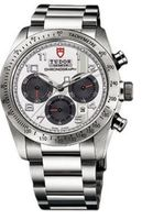 Tudor Fastrider Chronograph  Men's Watch 42000-95730WHI ARAB