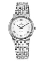 Omega De Ville Prestige Quartz 27.4mm White Dial Women's Watch 424.10.27.60.04.001