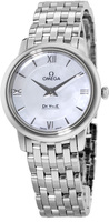 Omega De Ville Quartz 27.4mm Mother of Pearl Dial Women's Watch 424.10.27.60.05.001