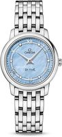 Omega De Ville Prestige  Blue Mother of Pearl Diamond Dial Women's Watch 424.10.27.60.57.001