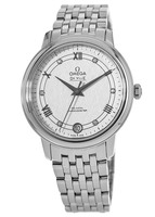 Omega De Ville Prestige Quartz 32.7mm Silver Diamond Dial Steel Women's Watch 424.10.33.20.52.002