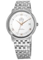 Omega De Ville Prestige Co-Axial 36.8mm Silver Dial Men's Watch 424.10.37.20.02.002