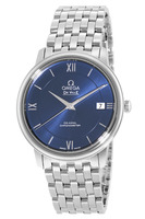 Omega De Ville Prestige Co-Axial 36.8mm Automatic Blue Dial Steel Men's Watch 424.10.37.20.03.001