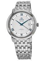 Omega De Ville Prestige Co-Axial 39.5mm Rhodium Dial Men's Watch 424.10.40.20.02.001