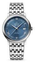 Omega De Ville Prestige Co-Axial 39.5mm Blue Dial Men's Watch 424.10.40.20.03.002
