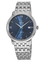Omega De Ville Prestige Co-Axial 39.5mm Orbis Blue Dial Automatic Men's Watch 424.10.40.20.03.003