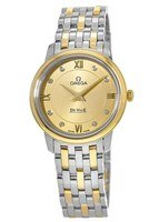 Omega De Ville Quartz 27.4mm  Women's Watch 424.20.27.60.58.001