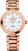 Omega De Ville Ladymatic Rose Gold Women's Watch 425.60.34.20.55.001