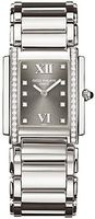 Patek Philippe Twenty-4  Diamond Grey Dial Steel Women's Watch 4910-10A-010
