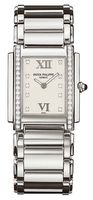 Patek Philippe Twenty-4  Diamond White Dial Steel Women's Watch 4910-10A-011