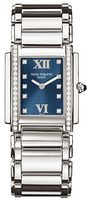 Patek Philippe Twenty-4  Diamond Blue Dial Steel Women's Watch 4910-10A-012