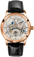 Glashutte Original Quintesssentials Senator Moon  Phase Skeletionized  Edition  Men's Watch 49-13-15-15-04