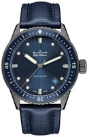 Blancpain Fifty Fathoms Bathyscaphe Blue Dial Men's Watch 5000-0240-O52A