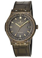 Hublot Classic Fusion 45mm Fuente Limited Edition Green Men's Watch 511.BZ.6680.LR.OPX17