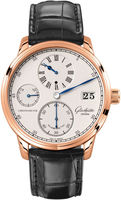 Glashutte Original Quintesssentials Senator  Chronometer  Regulator  Men's Watch 58-04-04-05-04
