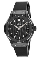 Hublot Classic Fusion All Black  Women's Watch 581.cm.1771.rx
