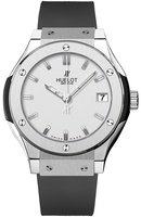 Hublot Classic Fusion 33mm Quartz Titanium Women's Watch 581.NX.2610.RX