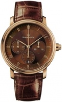 Blancpain Villeret Automatic Chronograph  Men's Watch 6185-3646-55B