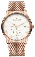 Blancpain Villeret Power Reserve Mechanical  Men's Watch 6606-3642-MMB
