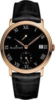 Blancpain Villeret 8 Days Manual Wind  Men's Watch 6614-3637-55B