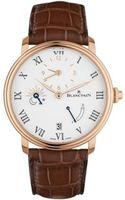 Blancpain Villeret 8 Days Half Timezone  Men's Watch 6661-3631-55B