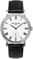 Patek Philippe Calatrava Small Seconds White Gold Women's Watch 7119G-010