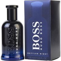 Hugo Boss Cologne  Boss Bottled Night EDT Spray 3.4 oz Men's Fragrance 737052352060