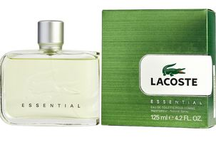 Lacoste Cologne  Essential EDT Spray 4.2 oz Men's Fragrance 737052483214