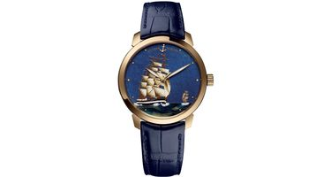 Ulysse Nardin Classic Enamel  Men's Watch 8156-111-2/KRUZ