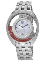 Versace   Mother of Pearl Red Floating Spheres Women's Watch 86Q971MD497S099