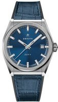Zenith Defy Classic  Blue Dial Blue Leather Men's Watch 95.9000.670/51.R584
