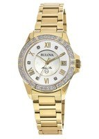 Bulova Marine Star Diamond  Women's Watch 98R235
