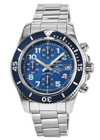 Breitling Superocean Chronograph 42 Blue Dial Stainless Steel Men's Watch A13311D1/C936-161A