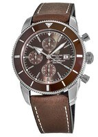 Breitling Superocean Heritage II Chronograph 46 Copperhead Bronze Dial Leather Strap Men's Watch A1331233/Q616-295S