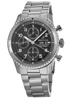 Breitling Navitimer 8 Chronograph 43 Black Dial Stainless Steel A13314101B1A1 Men's Watch A13314101/B1-189A