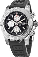 Breitling Avenger Super Avenger II Black Dial Rubber Strap Men's Watch A1337111/BC29-155S