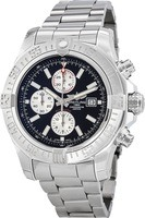 Breitling Avenger Super Avenger II Black Stick Dial Steel Men's Watch A1337111/BC29-168A