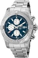 Breitling Avenger Super Avenger II Blue Dial Chronograph Steel Men's Watch A1337111/C871-168A